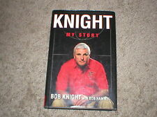 KNIGHT MY STORY!  BOB KNIGHT (HAMMEL) 1st EDITION USED HARDBACK BOOK!