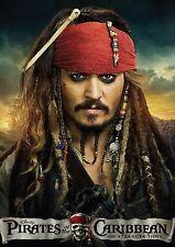 Piratas Del Caribe Cartel De Tela repositional A3 8