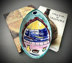 VINTAGE FRENCH POTTERY. VALLAURIS. PICASSO, CAPRON CONNECTION. H. FARIBOLE.