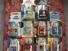 Yankee Candle Selection Of 10 Different Car Jar Air Fresheners