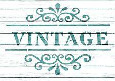 NEW Stencil,vintage A6, French,,Wedding, ShabbyChic,fabric, furniture