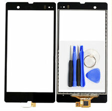 Black Digitizer Touch Screen Panel For Sony Xperia Z L36h L36i C6602 C6603 Tools