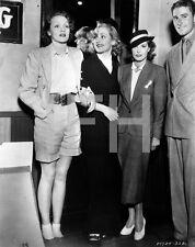 8x10 Print Marlene Dietrich Carole Lombard #787