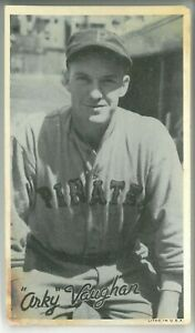 1936 Goudey Wide Pen Premiums R314 ARKY VAUGHAN #A105