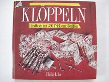 KLÖPPELN by ULRIKE LÖHR - Bobbin lace manual
