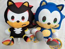 Sonic the Hedgehog Shadow Plush Set Stuffed Figure Boys Girls Kids Toy Gift USA
