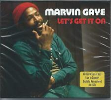 Marvin Gaye - Let's Get It On - Greatest Hits Live (2CD 2007) NEW/SEALED
