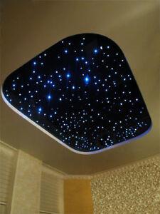 LED Sternenhimmel Lampe Lichtfasern 0,75 - 1 - 2mm lautlos