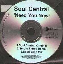SOUL CENTRAL - Need You Now (Original, S.Flores, Deep Josh Rmxs) - Defected