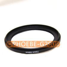 58mm-49mm 58-49 filtro anillo adaptador convierte 58mm Lente Rosca De 49 Reductor