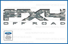 2011 Ford F250 F350 FX4 Off Road Decals - FDCACU Digital Camo ACU stickers side