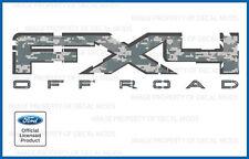 2009 - 2011 Ford F150 FX4 Off Road Decals - FDCACU Digital Camo ACU stickers