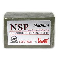 Chavant NSP Medium Green Sculpting and Modeling Clay (40lb case)