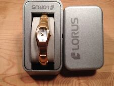 New - Reloj Watch LORUS Ref.RJ406AX-9 - Quartz  Golden steel Acero dorado  Nuevo