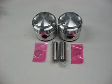 TRIUMPH 500 PISTONS 62-68 .060 OVER PISTONS *WITH RINGS* JCC EMGO