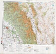 Russian Soviet Military Topographic Maps - FRESNO (USA), 1:500 000, ed. 1980