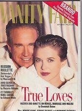 SEPT 1994 VANITY FAIR vintage fashion magazine WARREN BEATY