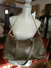 Juicy Couture Fast Track Distressed Leather Satchel  Chain NWT Bag Retail 248 $