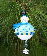 Snowman Christmas Ornament Adornment Regal Art