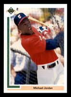 Michael Jordan SP Baseball Rookie Card 1991 Upper Deck #SP1