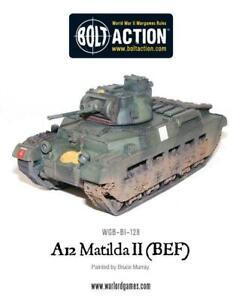 BOLT ACTION  ~  BRITISH A12 MATILDA II (BEF)  ~  NEW