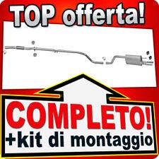Scarico Completo OPEL MERIVA B 1.3 CDTi con CROMO Marmitta Y103