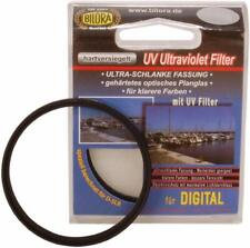 2 x Bilora UV Ultraviolet Filter Ø 49 mm Low Profile hartversiegelt 7010-49 OVP