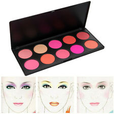 10 Colors Professional Makeup Camouflage Blush Blusher Palette Cosmetics