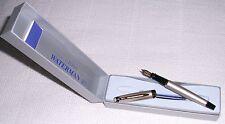 WATERMAN EXPERT II CHAMPAGNE & GOLD  FOUNTAIN PEN MEDIUM  PT  NEW IN BOX