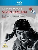 * SEVEN SAMURAI ( 1954 Akira Kurosawa ) BFI BLURAY NEW & FACTORY SEALED *