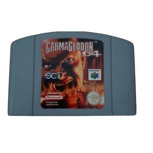 Carmageddon Nintendo 64 N64 Vintage Retro Game Cartridge