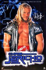CHRIS JERICHO Y2J 2000 Rare WWE WWF Wrestling Official Vintage Original POSTER