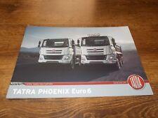 TATRA T 158 PHOENIX Euro 6 Trucks Range Brochure Prospekt Catalogue