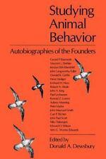 STUDYING ANIMAL BEHAVIOR - NEW PAPERBACK BOOK