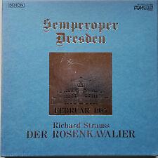 STRAUSS Rosenkavalier SK Dresden Vonk Semperoper Audiophile 4LP Denon signed