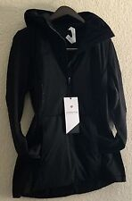 Lululemon Run For Cold Pullover Primaloft Water Protection Glyde Black 8 Nwt