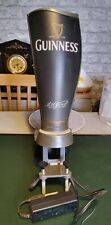 More details for guinness bar light up font untested man cave/bar collectable