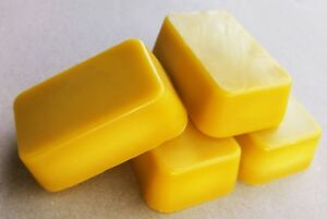Beeswax Blocks, Cosmetic Grade, Filtered and Purified, 2.5oz / 70g bar