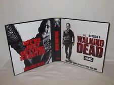 Custom Made The Walking Dead Season 7 Trading Card Binder Graphics Only