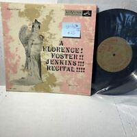 """A Florence Foster Jenkins Recital- RCA LRT 2000 VG+-/VG 1954 Opera 10"""""""