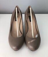 Womens Shoes Size 3 Sergio Todzi Heels Taupe <SW5359 z