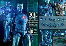 "HOT TOYS 1/6 SCALE 12"" IRON MAN MARK 3 III Stealth DIECAST ACTION FIGURE MMS314"