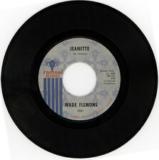"""WADE FLEMONS  """"JEANETTE c/w WHAT A PRICE TO PAY""""  NORTHERN SOUL CLASSIC"""