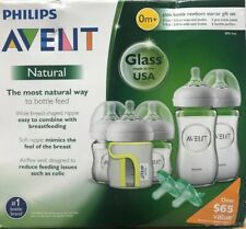 Philips Avent Natural Glass Bottle Baby Gift Set