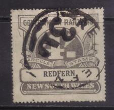 stamp  Australia  railways parcel stamp REdfern  4/