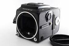 HASSELBLAD 503CX Black Medium Camera Body + A12 Film Back [EXCELLENT] From Japan