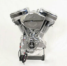 140HP NATURAL CHROME ULTIMA EL BRUTO 127ci ENGINE MOTOR FIT EVO EVOLUTION HARLEY