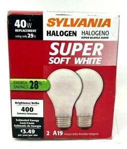 Sylvania Soft White Halogen 40W Replacement Using 29W