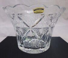IRENA handmade in Poland-Vintage 24% Lead Crystal Bowl/