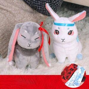 Mo Dao Zu Shi Couple Rabbit Doll Wei Wuxian Lan Wangji Plush Toy Child Gif Nice